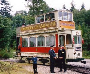 Sporvogn på Frederiksberg-linjen